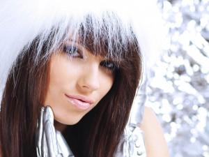 Красивые волосы зимой